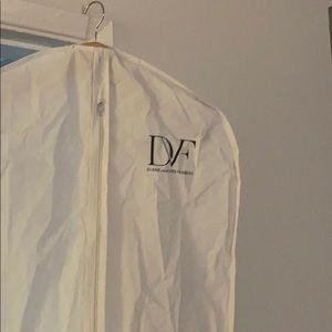 DVF Hanging Garment Storage Bag - White